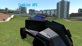 Download Gmod Addon Review: Drivable Combine APC (Feat: The Very Polite Douche) Video