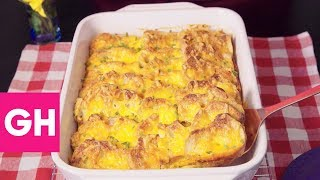 Download Make-Ahead Ham and Cheese Breakfast Bake | GH Test Kitchen Secrets Video