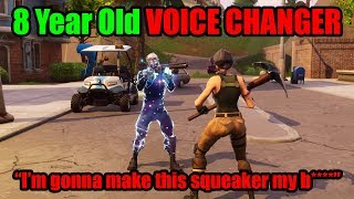 Download I Pretended To Be 8 YRS OLD In Playground Then DESTROYED BULLY - Fortnite Voice Changer Video
