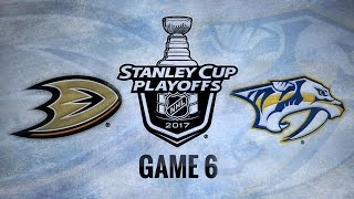 Download Sissons propels Preds to first Cup Final in 6-3 win Video