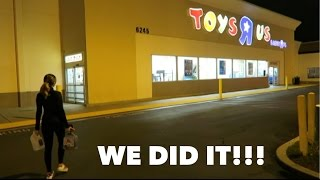 Download OVERNIGHT CHALLENGE AT TOYS R US!!! (RELATIONSHIP GOALS) Video