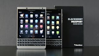 Download Blackberry Passport Silver Edition: Unboxing & Comparison Video