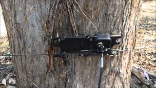 Download Portable Military MIL-1 broadband HF end fed dipole antenna by Bushcomm Australia Video