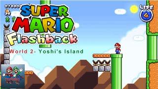 Download Super Mario Flashback World 2- Yoshi's Island Gameplay Video
