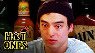 Download Joji Sets His Face on Fire While Eating Spicy Wings | Hot Ones Video