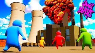 Download BEAST MODE ENGAGED!!! Funniest Fighting Game Ever - GANG BEASTS Funny Moments & Fails Video
