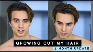 Download Growing Out My Hair from an Undercut (3 month update) + men's hair tips Video