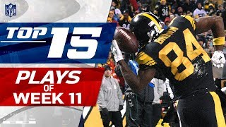 Download Top 15 Plays of Week 11 | NFL Highlights Video