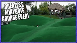 Download THE BEST MINI GOLF COURSE EVER - HOLE IN ONES AND CRAZY SHOTS - WIN FREE GAMES FOR LIFE [4K] Video