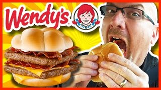 Download Wendy's BACONATOR® Review and Drive Thru Test (LOTS OF BACON!!!) Video