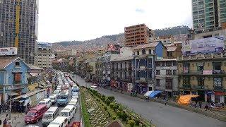 Download Walking in La Paz (Bolivia) Video