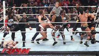 Download 16-Man Elimination Fatal 4-Way Elimination Tag Team Match: Raw, December 7, 2015 Video