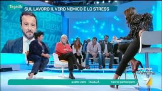 Download Stress e lavoro - Partecipazione Mario Alberto Catarozzo alla trasmissione TAGADÀ di LA7 Video
