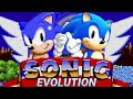 Evolution of Sonic Games 1991-2019
