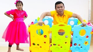 Download Jannie Pretend Play Learning Shapes for Kid Toys | Fun Educational Video for Children Video