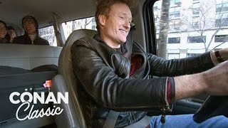 Download Conan Helps Out During The NYC Transit Strike - ″Late Night With Conan O'Brien″ Video