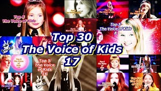 Download Top 30 - The Voice of Kids 17 Video