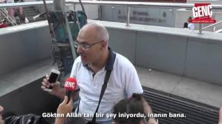 Download Yabancı Turist: Kalbimdekilere İnanın, Allah Türkiye'yi Koruyor - Genç Mikrofon Video
