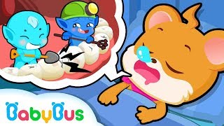 Download Whiskers Doesn't Like Brushing Teeth | Good Habits | BabyBus Cartoon Video
