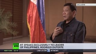 Download 'I've got a friend who has plenty Of weapons': Philippines' strongman Duterte to RT (EXCLUSIVE) Video