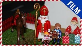 Download Playmobil Film deutsch - Nikolaus - PlaymoGeschichten Video