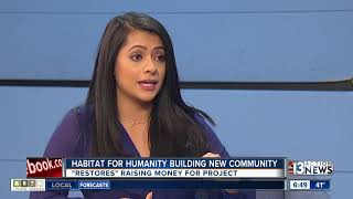 Download Habitat for Humanity ″Restore″ helping build new housing Video