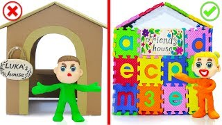 Download SUPERHERO BABY BUILDS ABC PLAYHOUSE 💖 Play Doh Cartoons For Kids Video