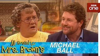 Download Michael Ball serenades Mammy in the kitchen - All Round to Mrs Brown's: Episode 6 - BBC One Video