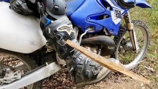 Download DIRTBIKER GETS SPEARED THROUGH LEG AND LIVES!!! Video