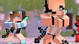 Download Psycho Girl 1-4 The Complete Minecraft Music Video Series - Minecraft Songs and Minecraft Animation Video