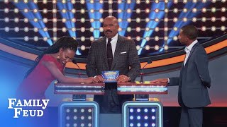 Download Brandi gives the #1 answer... to BRODERICK! | Celebrity Family Feud Video