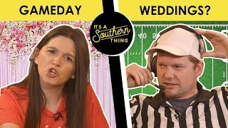 Download Weddings on College Football Saturday? - Back Porch Bickerin' Video
