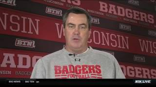 Download Paul Chryst Talks Being Named Hayes-Schembechler Coach of the Year Video