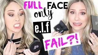 Download FULL FACE USING ONLY E.L.F. PRODUCTS - FAIL?! Video