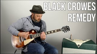 Download Black Crowes ″Remedy″ Guitar Lesson (Open G Tuning) Video