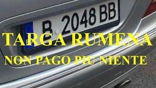 """Download TARGA RUMENA E NON PAGO NIENTE VEDETE ANCHE:"""" PARTE 2″!!! Video"""