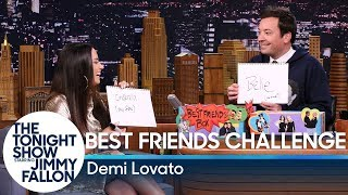 Download Best Friends Challenge with Demi Lovato Video