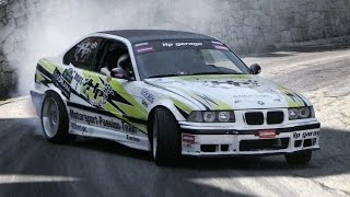 Download BMW M3 E36 Street & Hillclimb/Downhill Drifting!! Video
