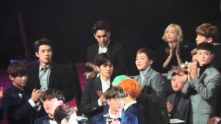 Download 160114 서울가요대상 엑소 - 신인상(세븐틴, 여자친구, 아이콘) 수상소감 들어요! Video