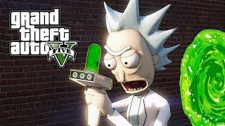 Download GTA 5 MOD - Portal Gun (Rick and Morty) Video
