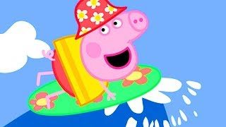 Download Peppa Pig Official Channel | World Ocean Day Special! Peppa Pig Loves Surfing 🏄 Video