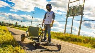 Download Homemade Go-Kart Video