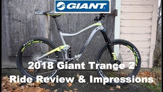 Download 2018 Giant Trance 2 Ride Review & Impressions || Spokane WA || Beacon Hill Video