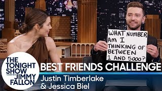 Download Best Friends Challenge with Justin Timberlake and Jessica Biel Video