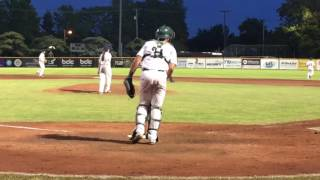Download LHP Claire Eccles' historic first appearance for Victoria Harbourcats Video