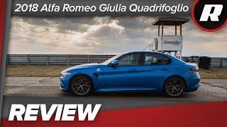 Download 2018 Alfa Romeo Giulia Quadrifoglio will torch all racetracks Video
