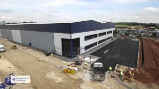 Download Samuel Grant's New Warehouse - Leeds - Construction Timelapse Video