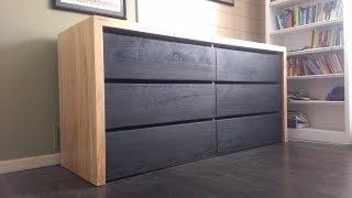 Download Modern dresser build (Timelapse) Video