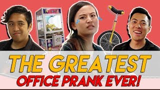 Download THE GREATEST OFFICE PRANK WITH TMALL PRODUCTS + GIVEAWAY! | TSL Vlogs Video