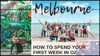 Download HOW TO SPEND YOUR 1ST WEEK IN AUSTRALIA // Arriving in Melbourne Video